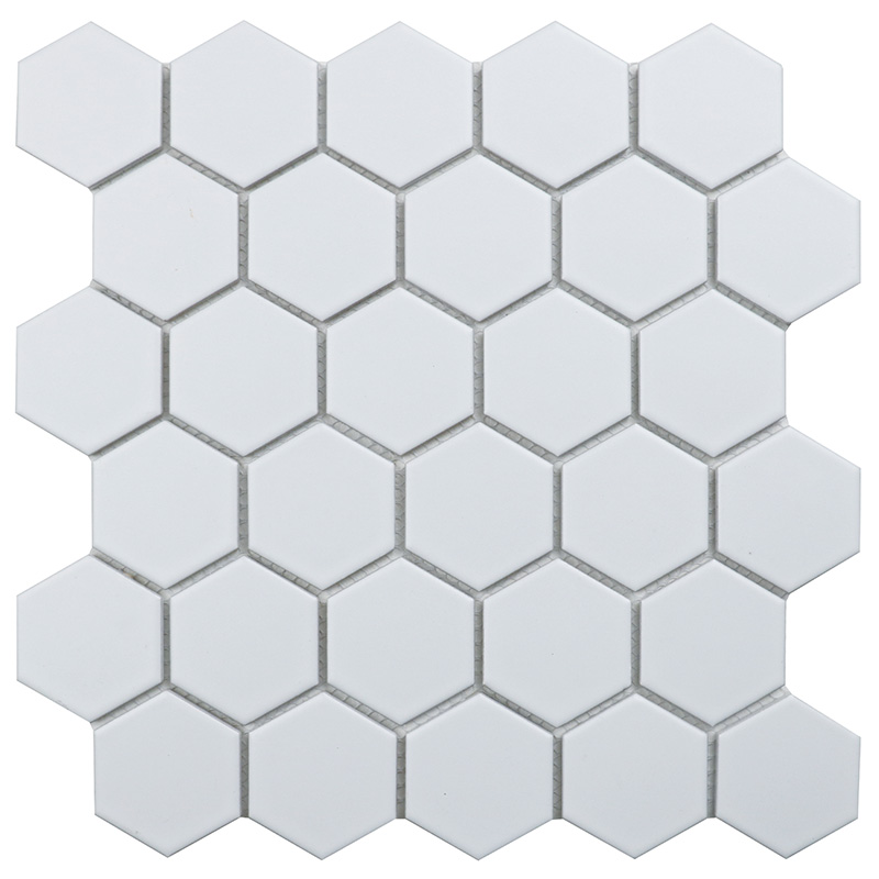Homework Hexagon small White Matt 51х57